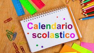 CALENDARIO A.S. 2018/2019